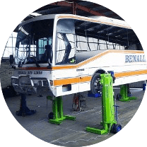 Portalift Bus Hoists